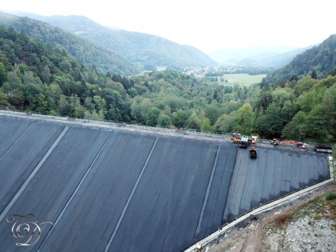 Barrage lac de kruth wildenstein Auberge du lac - La moraine du lac 2